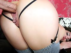 Horny slut always wanted to fuck Nacho & she finally did it!