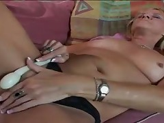Nina Shakes Her Old Booty for Big Dick Invasion