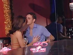 Sex party after hours in club