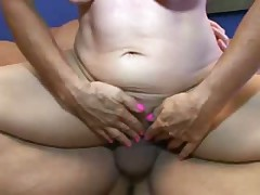 Filthy Grandma Fucked and Jizzed