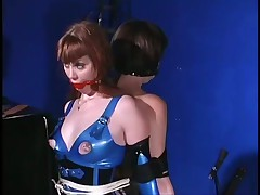 Slave Whores Immobilised In Firm Latex