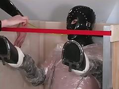 Dominatrix Punishes Her Masculine Slave