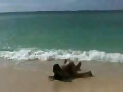 Teen on the beach Nudist Lesbo