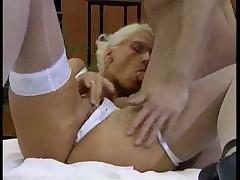 Sexy german blonde
