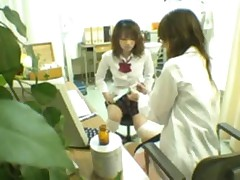 Schoolgirl seduced by female Doctor 1