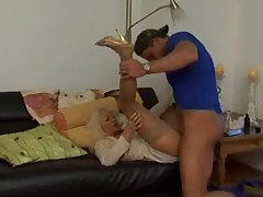 Sexy Mature Granny Blonde Hot Fucking Sex