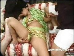 India girl Amalya gangbang