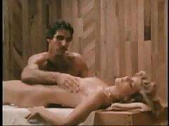 Ginger Lynn and Harry Reems Steamy Sauna