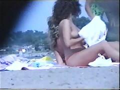 Voyeur on the beach