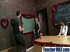 Busty Teachers Getting Hard Fucked video-30