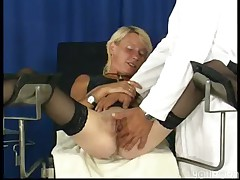 Getting nasty in the doctor s office  -
