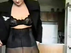 Femdom - Executive in Charge (femaleauthority.com) [Footworship Facesitting Forced Cunnilingus Force
