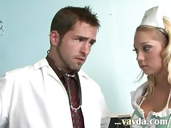 Gangbang threesome in the hospital
