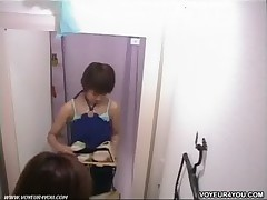 Fitting room voyeur movie