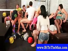 MMF bisexual cock sucking party