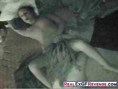 Real Dorm Sex Caught on Hidden Camera