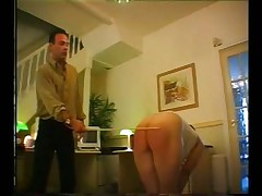Westcountry girl caning