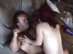 Horny midget couple fucking