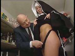 Hot german nun
