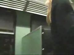 German amateur train fucking