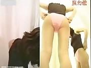 Naked on hidden cam