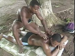 Black gay outdoor