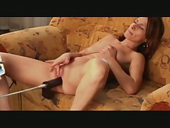 Machine fuck anal
