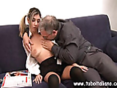 Italian Teen With Older Guy Ragazza