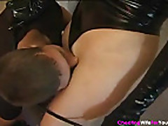Mature dom wife in knee boots