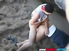 Young amateur teen outdoor quicky