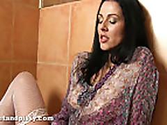 Piss: Katty Wrings Out Her Soaking Wet Panties