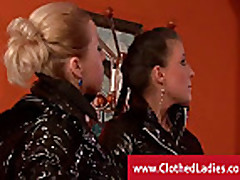 Two posh ladies banging the bellboy