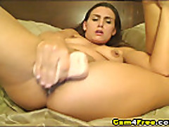 Cam: Horny Babe Reaches Orgasm! HD