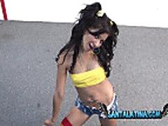 Laura Montenegro solo masturbation