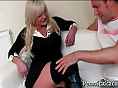 Busty Karen Kay gets pussy licked