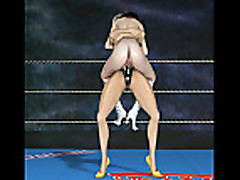 Loser Domination Lesbian Match - Lost and become sex slave!