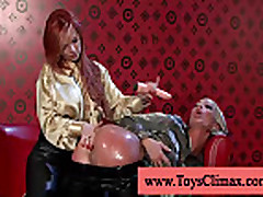 Sexy asshole is being penetrated by toy