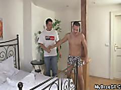 Smart guy bangs his bro's GF