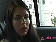 Masturbation in a taxi